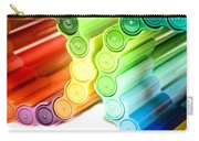 Color Pens 3 Carry-all Pouch