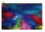 Color Splash Abstract 080210 Carry-all Pouch
