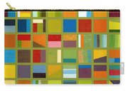 Color Study Collage 64 Carry-all Pouch by Michelle Calkins