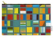 Color Study Collage 67 Carry-all Pouch by Michelle Calkins