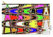 Color Wave Abstract Carry-all Pouch