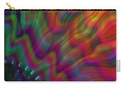 Color Waves Carry-all Pouch