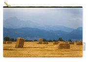 Colorado Agriculture Farming Panorama View Carry-all Pouch