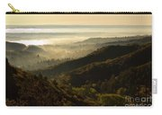 Colorado And Manitou Springs Valley In Fog Carry-all Pouch