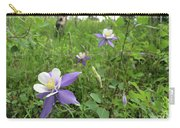 Colorado Columbine On Pikes Peak Carry-all Pouch
