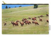 Colorado Elk Herd Carry-all Pouch