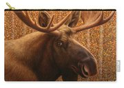 Colorado Moose Carry-all Pouch by James W Johnson