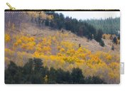 Colorado Mountain Aspen Autumn View Carry-all Pouch