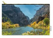 Colorado River And Glenwood Canyon Carry-all Pouch by Jemmy Archer