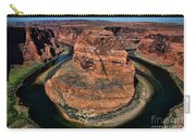 Colorado River Circles Horseshoe Bend Page Arizona Usa Carry-all Pouch