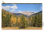 Colorado Rockies National Park Fall Foliage Panorama Carry-all Pouch
