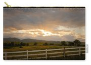 Colorado Rocky Mountain Country Sunset Carry-all Pouch by James BO  Insogna