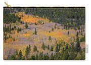Colorado Rocky Mountains Autumn Colors Carry-all Pouch