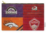Colorado Sports Teams On Brick Carry-all Pouch