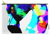 Colored Flamingo Carry-all Pouch