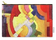 Colored Forms IIi By August Macke Carry-all Pouch