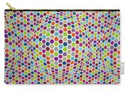 Colored Geometries Carry-all Pouch
