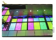 Colored Glass 8 Carry-all Pouch