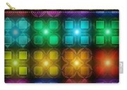 Colored Lights Carry-all Pouch
