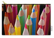 Colored Pencils Carry-all Pouch by Garry Gay