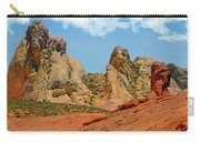 Colored Sandstones Valley Of Fire Carry-all Pouch