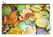 Colored Shells Carry-all Pouch