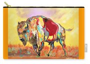 coloredd Buffalo Carry-all Pouch