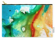 Colorful Abstract Art - Captured - By Sharon Cummings Carry-all Pouch
