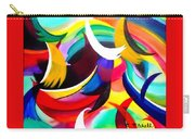 Colorful Abstract Art Carry-all Pouch