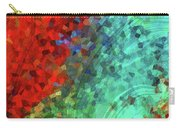 Colorful Abstract Art - Rejoice - Sharon Cummings Carry-all Pouch