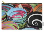 Colorful African Wire Bowls Carry-all Pouch