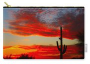 Colorful Arizona Sunset Carry-all Pouch