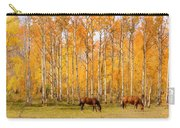 Colorful Autumn High Country Landscape Carry-all Pouch