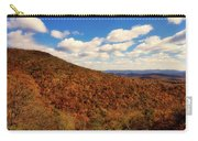 Colorful Autumn Panorama - West Virginia Carry-all Pouch