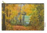 Colorful Autumn Trail Carry-all Pouch
