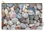 Colorful Beach Pebbles Carry-all Pouch