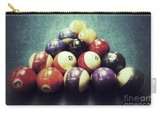 Colorful Billiard Balls Carry-all Pouch
