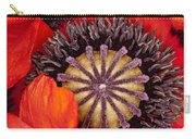 Colorful Bloom Carry-all Pouch
