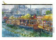 Colorful Boats In Istanbul Turkey Carry-all Pouch