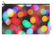 Colorful Bokeh Carry-all Pouch