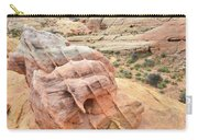 Colorful Boulder Above Wash 3 In Valley Of Fire Carry-all Pouch