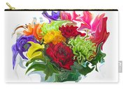 Colorful Bouquet Carry-all Pouch