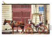 Colorful Cabs Of Malta Carry-all Pouch