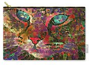 Flower Cat 1 Carry-all Pouch