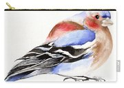 Colorful Chaffinch Carry-all Pouch