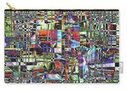 Colorful Chaotic Composite Carry-all Pouch