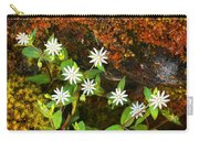 Colorful Chickweed Carry-all Pouch