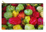 Colorful Chili Pepper Carry-all Pouch