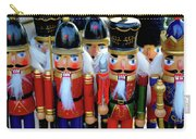 Colorful Christmas Nutcrackers Carry-all Pouch