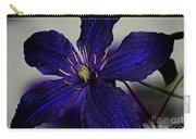 Colorful Clematis Carry-all Pouch